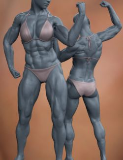 Musculature HD Morphs for Genesis 8 Female
