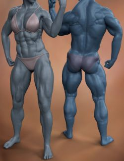 Musculature HD Morphs Bundle for Genesis 8