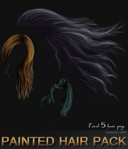 Painted Hair Pack