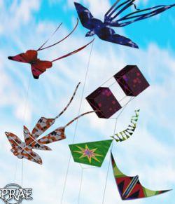 Prae-Kites for G3 G8 Daz