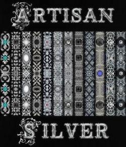 Artisan Silver Seamless Texture Pack