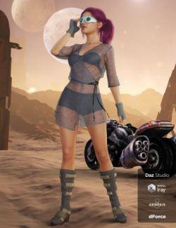 dForce Alternate Future Outfit for Genesis 8 Female(s)