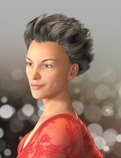 Shock Hair for Genesis 3 and 8 Females