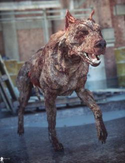 Undead for Daz Dog 8