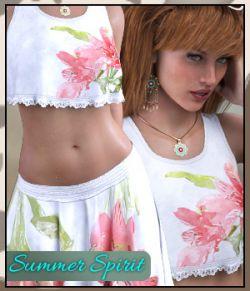 dForce - GB Summer Spirit Outfit for Genesis 8 Female