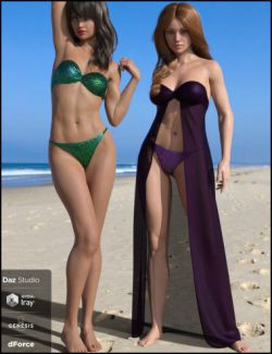 dForce Dresskini for Genesis 8 Female(s)