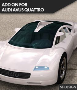 Add On for Audi Avus Quattro for DAZ Studio