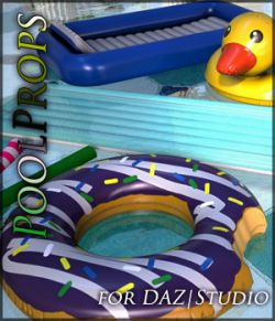Pool Props for Daz Studio