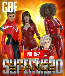 SuperHero Stance for G8F Volume 1 & 2