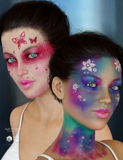 Enchanted Fantasy Makeup for Genesis 8 Female(s)
