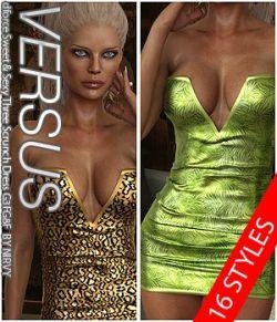 VERSUS- dforce Sweet & Sexy Three Scrunch Dress G3FG8F