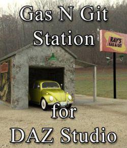 Gas N Git Station for DAZ Studio