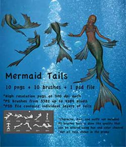 Mermaid Tails High Res