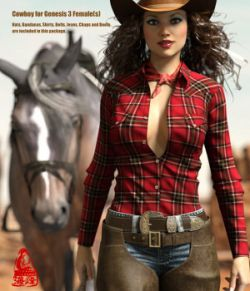 Cowboy for Genesis 3 Female(s)