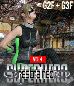 SuperHero Restrained for G2F and G3F Volume 4