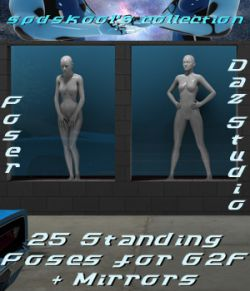 25 Standing Poses for G2F and Mirrors