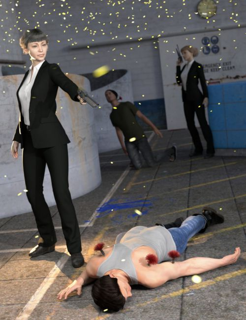SY Knocked Out! Poses and Props for Genesis 8