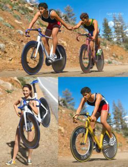 Velo Bike Racing Poses for Genesis 8