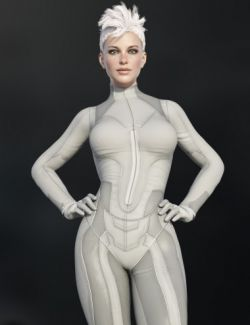X-Fashion Sci Bodysuit 8 for Genesis 8 Female(s)