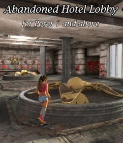 AJ Abandoned Hotel Lobby