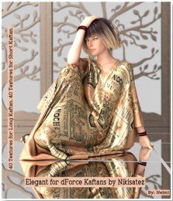 Elegant Texture Set for dForce Kaftans