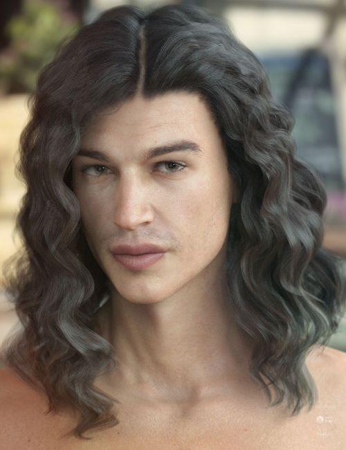 Vance Hair for Genesis 3 & 8 Male(s)