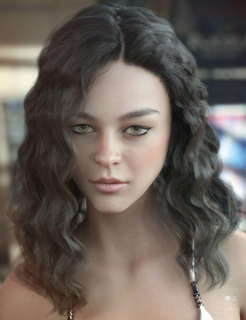 Vance Hair for Genesis 3 & 8 Female(s)