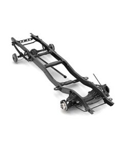 CHEVROLET C10 CHASSIS 2WD 1972-1987- EXTENDED LICENSE