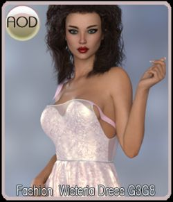 Fashion: Wisteria Dress G3G8
