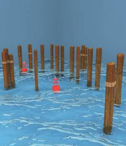 Middle Ground Pilings And Buoys For Vue