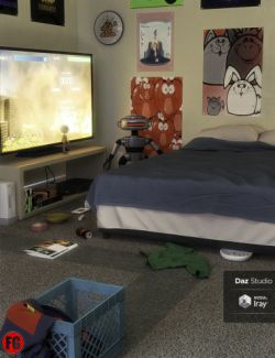 FG Gamer Room and Props