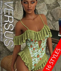 VERSUS- dForce- Frilly Swimsuit for G8F