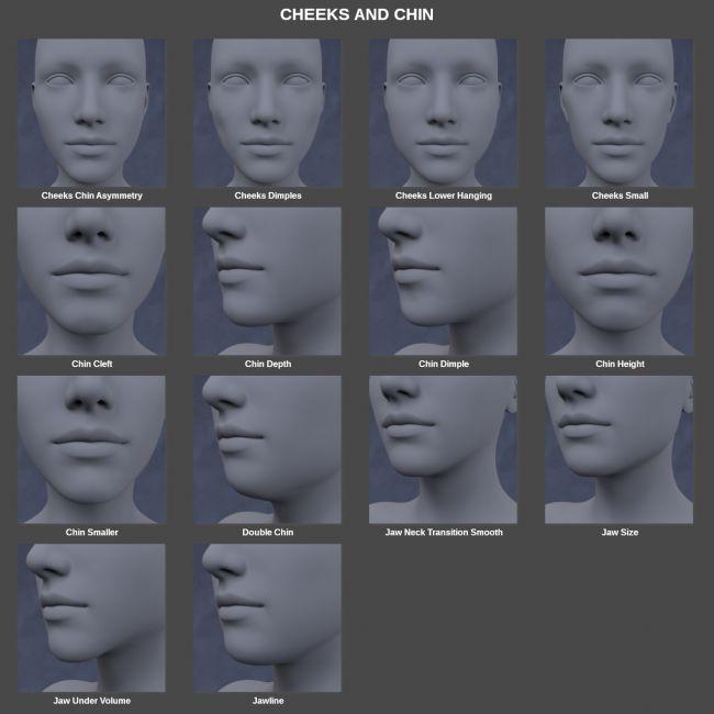 Face Morph Kit for Genesis 8 Female