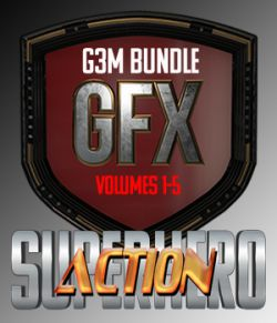 SuperHero Action Bundle for G3M