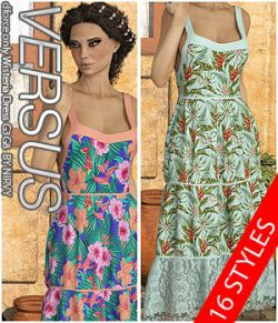 VERSUS - dforce only Wisteria Dress G3G8