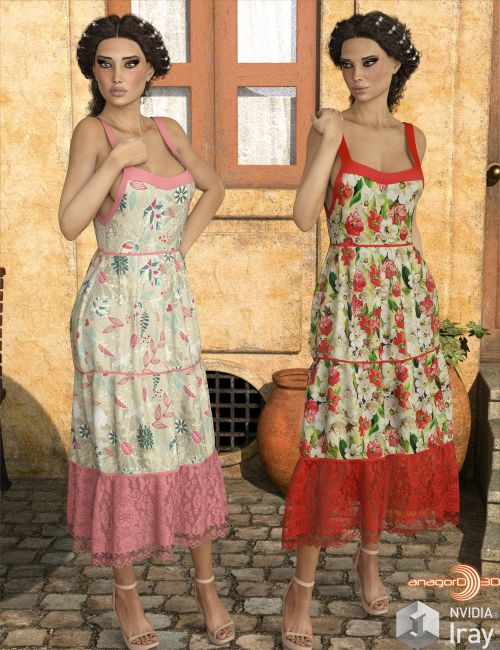VERSUS - dforce only Wisteria Dress G3G8