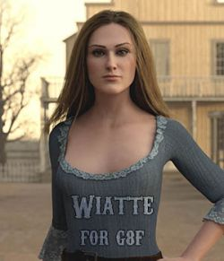 Wiatte for Genesis 8 Female