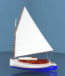 Cook's Cape Cod Catboat For Vue