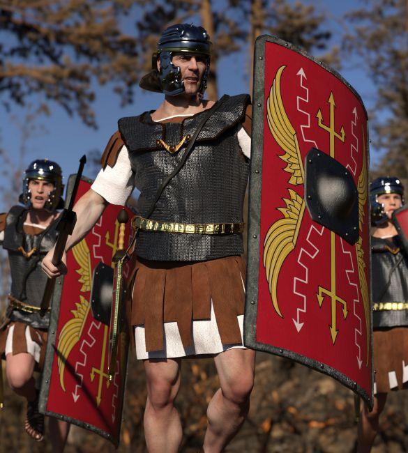 dForce Roman Legion for Genesis 8 Male