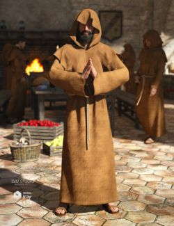 dForce Monk for Genesis 8 Male(s)