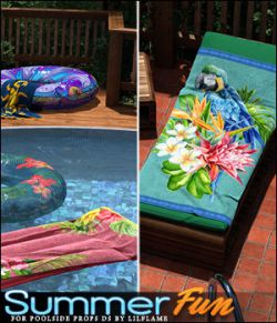 Summer Fun for Poolside Props DS