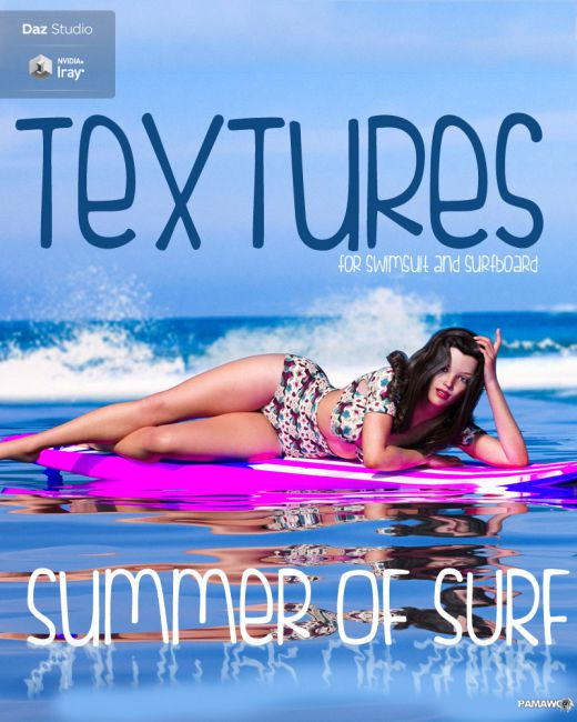 Summer Of Surf Textures DS