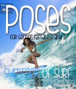 Summer Of Surf Poses DS