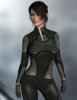 X-Fashion Sci Bodysuit 7 for Genesis 8 Female(s)