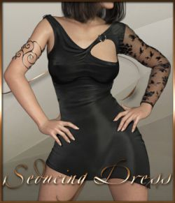 Seducing Dress for Genesis 8 Female