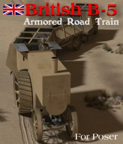 British B-5 Armored Road Train