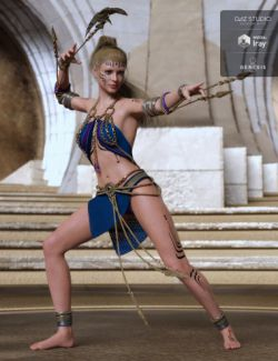 dForce Genus Unknown Outfit for Genesis 8 Female(s)