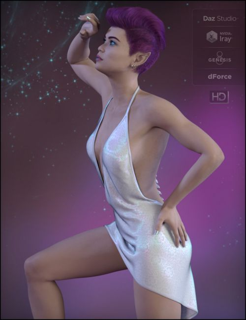 dForce Sexy Little Outfit for Genesis 8 Female(s)