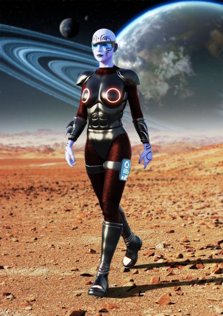 Saturn 3 Outfit for Genesis 8 Female(s)