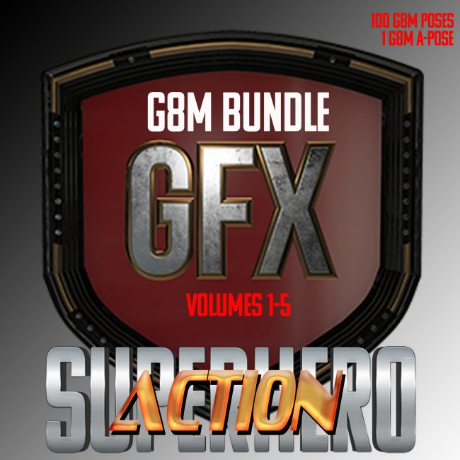 SuperHero Action Bundle for G8M